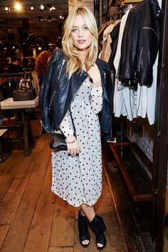 Laura Whitmore at All Saints.