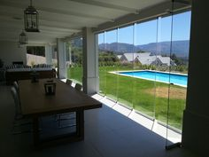 Sliding Glass Door, Sliding Doors, Indoor, Flooring, Mansions, House Styles, Outdoor Decor, Modern, Home Decor