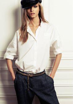 Anna Selezneva | Mango A/W 2012 Campaign