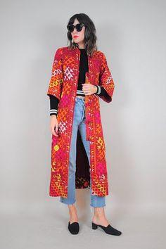60's Embroidered India Phulkari Jacket