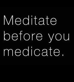Meditación!
