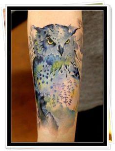 owl tattoo 36