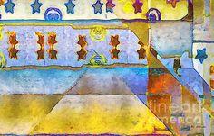 Title  Empty Stage   Artist  RC deWinter   Medium  Painting - Digital Oils