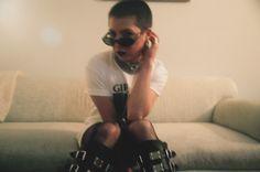 Polaroid of Chloe Chaidez (KITTEN) for Dolores Haze