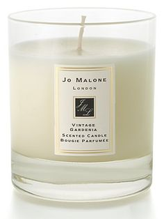 Jo Malone 'Vintage Gardenia' candle. Smells amazing & burns for infinity hours.