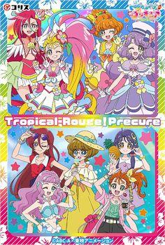 Pretty Cure, Pretty And Cute, Pretty Girls, Anime Girl Cute, Kawaii Anime Girl, Funny Hats, Glitter Force, Hero Girl, Magical Girl