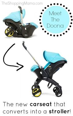 Coming Soon! Doona Infant Carseat That Converts To A Stroller!