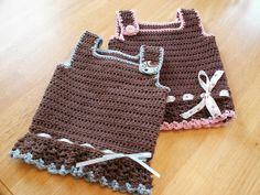 Tank Top crochet pattern by Leila and Ben
