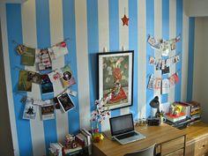Dorm room stripes