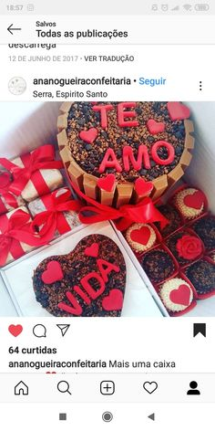 Cute Desserts, Chocolate Treats, Chocolates, Valentines Day, Boyfriend, Inspire, Birthday, Gifts, Birthday Surprise Boyfriend