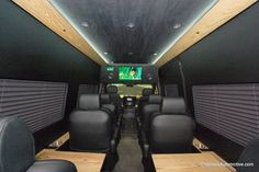 Exterior Of A 12 Passenger Explorer Conversion Van With Leather Seating Luxury Trim Http Explorervan Com 12 Passenger Vans Pinterest Conversion Van