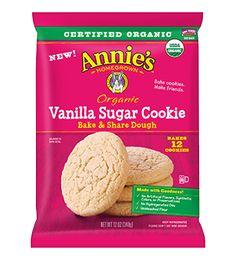 Organic Vanilla Sugar Cookie Bake & Share Dough - Annie's Homegrown