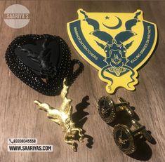 Saariya's Markhor Supreme Pack 7200 DM or Whatsapp 03338345558 (Originally 8200) 🌟🌟🌟🌟🌟🌟🌟 You can Buy Individually as ::: Markhor Matt Golden Lapel pin 1900 Markhor Waakhi Black Locket 2350 Markhor Snake Eaters Cufflinks 2100 Markhor Emblem for Cars 1500  #Lapelpins #Souvenirs #Badges #Accessories #Tieclips #Markhor #Haider #ISI #PakistanArmy #Saariyas #PakArmy #MenAccessories #Cufflinks #Gifts #MenGifts #Scarfs #Pens #Lapelpin #Pakistan #Sherdils #PAF #PakistanNavy #Army #Airforce… National Animal, Pakistan Army, Ferrari Logo, Snakes, Lapel Pins, Supreme, Badge, Cufflinks, Gifts