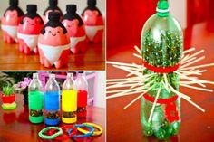 12 transformations ingénieuses de bouteilles plastique… en jeux !