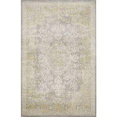 Annabelle Grey/Green Area Rug Safavieh Rug Size: 121 x 170 cm
