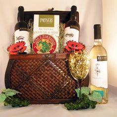 Icons of Maryland Wine Gift Basket