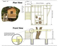 Kids Tree House Plans Designs Free