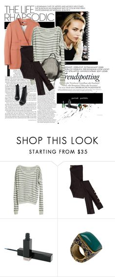 """Miss street!!"" by matea ❤ liked on Polyvore featuring Melissa, Humanoid, Zagliani, Chanel, Givenchy, Isharya and House of Harlow 1960"