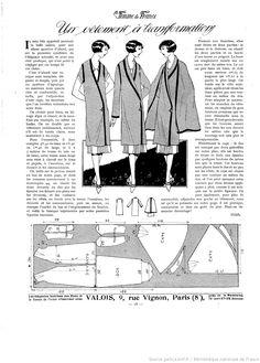 Les Modes de la femme de France 1925/05/31 Трансформер