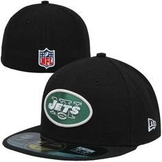 more photos d34c2 e317c Youth New Era Black New York Jets On-Field 59FIFTY Fitted Hat, Sale