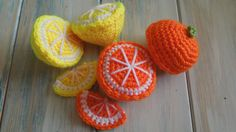 (crochet) How To - Crochet an Orange Half - Yarn Scrap Friday