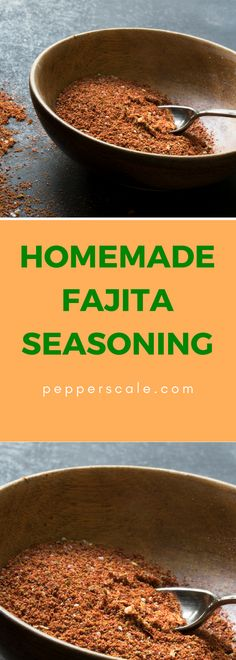 A perfect spice rack save for fajita night... Fajita night and no fajita marinade or seasoning in sight? It's ok - if you have a well stocked spice rack, you can make a delicious homemade fajita seasoning in no time at all.