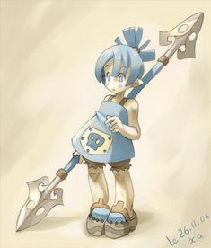 Little warrior by xa-xa-xa.deviantart.com on @deviantART