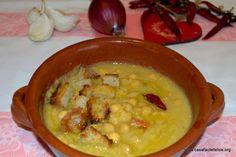 Zuppa di ceci. on http://casafacilefelice.org