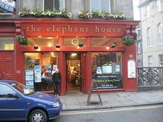 Scotland: Edinburgh - The Elephant House.... Where JK Rowling started writting Harry Potter! need to go here!