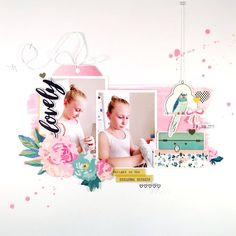 Jot Mag March Mood Board 2017 - layout by Sheree Forcier.