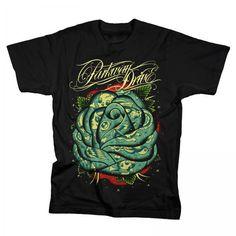 Parkway Drive - Black Rose on Black t shirt I WANT IT!!!!;;;