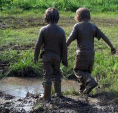i miss being little...i miss playing on the mud...but most of all i miss the mud puddles. Where is the rain?
