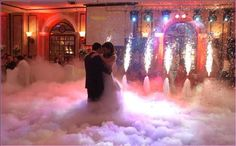 wedding smoke machine hire - Google Search