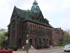 Post Office & Courthouse in Amherst, Nova Scotia