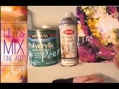DIY Pouring Medium Lots of Cells! Cheap Paint, Flip Cup. Look in the description. - YouTube