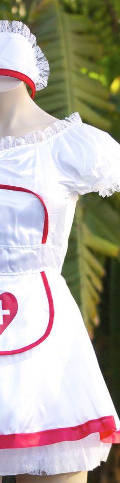 Ladies Sexy Naughty Nurse Adult Halloween Costume    $19.99 Free US Shipping