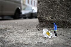 Slinkachu little people project                                                                                                                                                                                 More