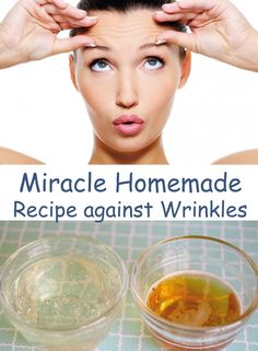 Miracle Homemade Recipe against Wrinkles