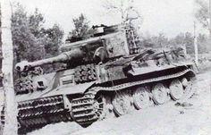 Tiger I Gruppe Fehrmann. | WW2 tanks | Flickr