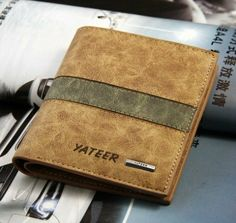 brown leather wallet leather wallet  mens by LeatherWalletStyle, $23.00