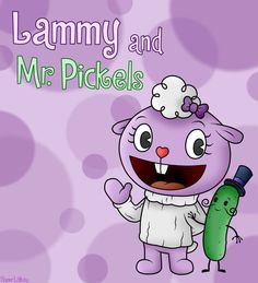 Happy Tree Friends: Lammy and Mr. Pickels by SuperLakitu on DeviantArt