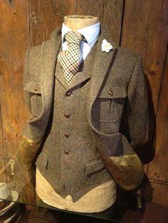 Tweed Jacket and Waistcoat gepinnt vom GentlemanClub - weitere spannende Beiträge auch in meinem Blog www.thegentlemanclub.de