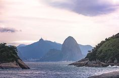 The Sugar Loaf and the Christ, Rio de Janeiro by  https://www.facebook.com/mmmphotostudio