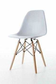 DSR of DSW designstoel lichtgrijs | Designstoelen DSR, DSW, DAR, DAW en RAR | TE LEUK HOUT