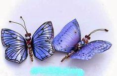DIY Pretty Butterflies from Plastic Bottles | GoodHomeDIY.com Follow Us on Facebook --> https://www.facebook.com/pages/Good-Home-DIY/438658622943462?ref=hl