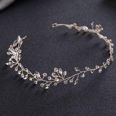 Jóia Do Cabelo Para As Mulheres de luxo Delicado Cristal Rhinestone Headbands Handmade Tiaras de Noiva Acessórios Do Cabelo Do Casamento Romântico SL