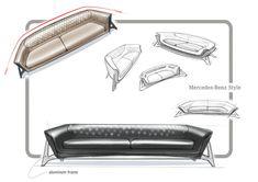 Mercedes-Benz Sofa