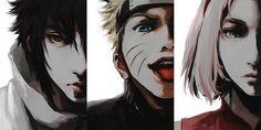 Tags: Fanart, NARUTO, Haruno Sakura, Uzumaki Naruto, Uchiha Sasuke, Pixiv, Team 7, Fanart From Pixiv, Pixiv Id 5567976
