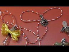 Snur Martisor DIY - tutorial in limba romana Diy Tutorial, Pendant, Youtube, Hang Tags, Pendants, Youtubers, Youtube Movies