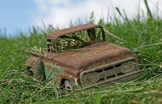 Rusty Tonka Trucks